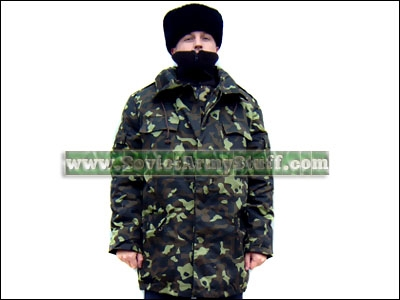 Russian Military Winter Coat - Coat Racks