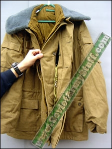 Russian Soviet Army Afghanistan War Winter Uniform Jacket & Pants