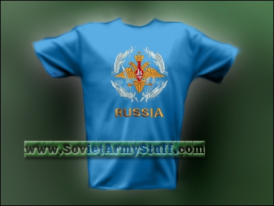 Russian Insignia Embroidered T-Shirt #2