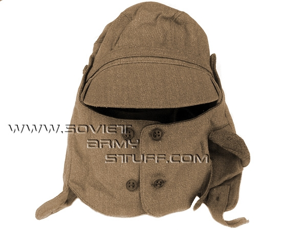 Russian Army Afghanistan Uniform Cap Hat with COLLAR e1d03400247
