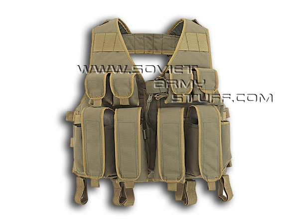 Russian Army Spetsnaz Tactical Assault Vest TARZAN M32 OLIVE