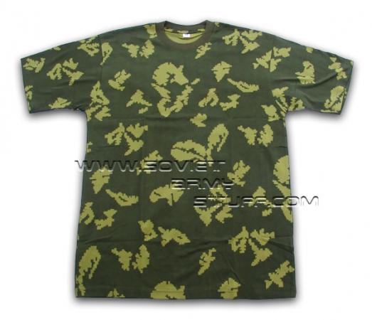 83e8e16ef83 Russian Army Spetsnaz Uniform Camo T-Shirt KLMK Beryozka
