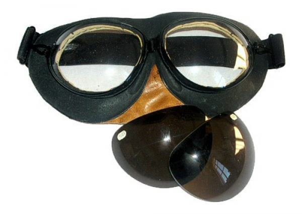 PO-1 Genuine Soviet Aviation Flight Googles New Biker