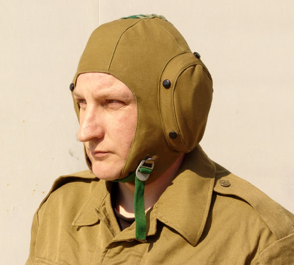 Soviet Army Aviation Carrier Mig Plane Mechanic Helmet Noise Reduction