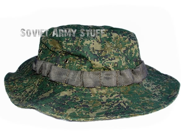 Russian Army Uniform Boonie Hat Panama DIGITAL FLORA CAMO Pattern