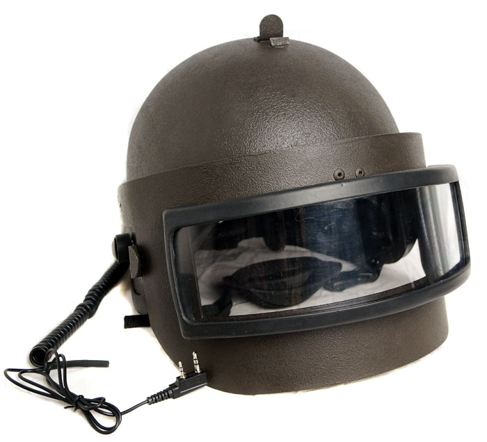 Altyn Russian Assault Helmet Replica. Visor, Headset