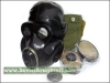 Russian Military Officer NBC Combat Rubber Gas Mask PBF Black