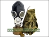 Soviet GP-6 Latex Rubber Gas Mask - Black (PMG-2)