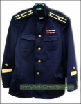 Original Soviet Military NAVY Officer Uniform Jacket . New