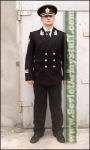 Russian Navy Officer COMPLETE Uniform Suit . Black