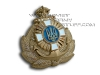 Ukrainian Military NAVY Officer Uniform Hat Badge