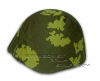 Russian Army M40 / M60 / M68 Steel Helmet Camo Cover BERYOZKA Green-Yellow