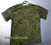 Russian Army Uniform Digital Flora Camo Pattern T-shirt