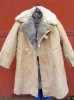 Genuine Soviet Army Sheepskin Winter Pointsman Uniform Jacket Coat White