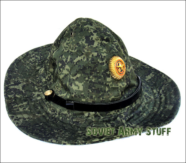 Russian Army Military Afghanistan War Type Boonie Hat Panama DIGITAL FLORA  CAMO ... 2881afe3825