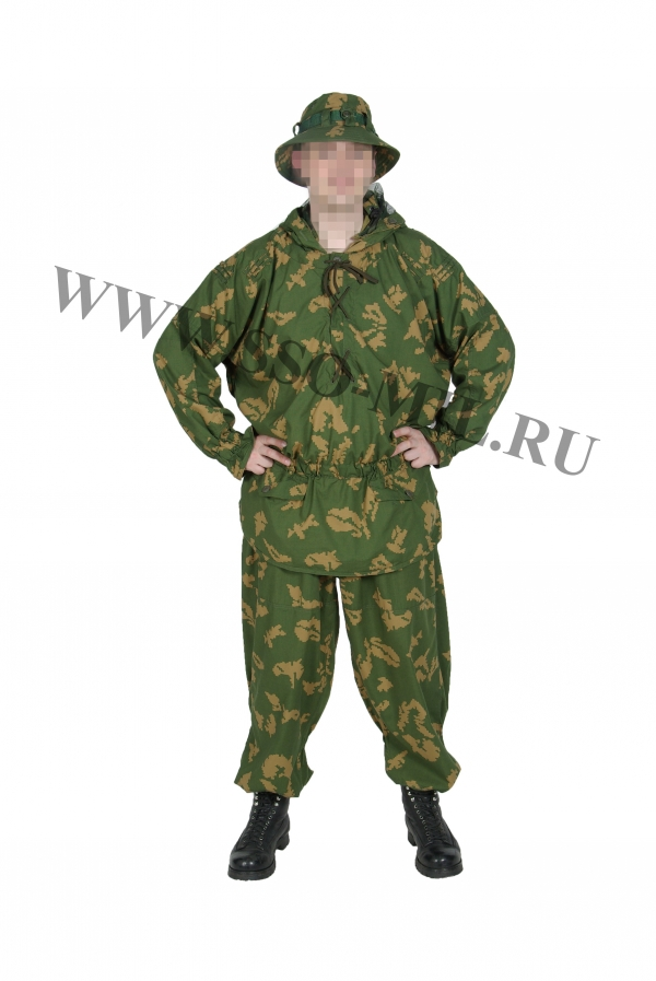 Russian Military SPOSN SSO SUMRAK Berezka Reversible Camo Suit