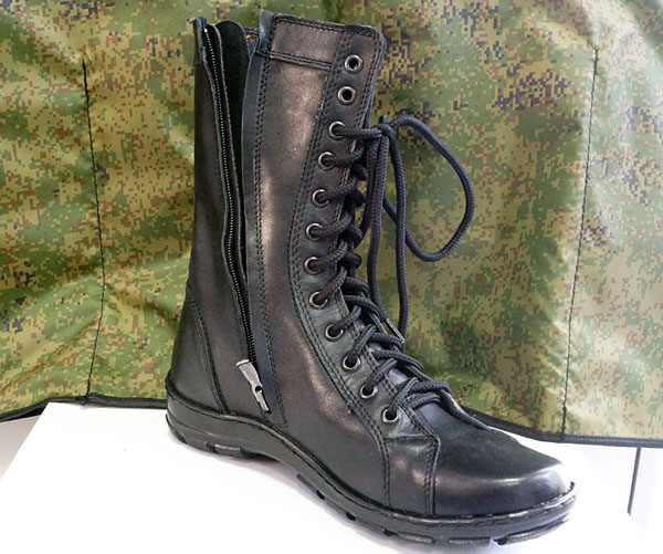 Russian Military Light Summer Hot Weather Leather Boots